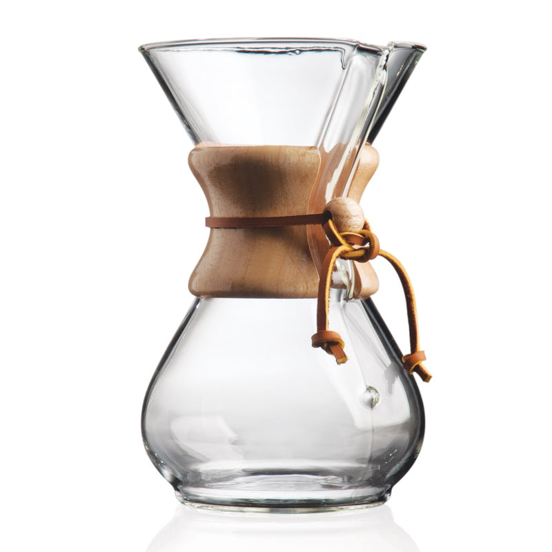 Chemex 6 Cup Wood Neck Coffee Maker