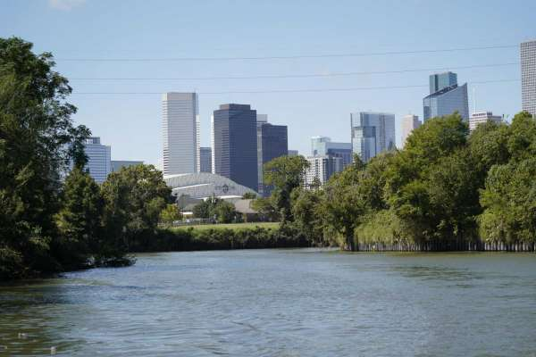 Buffalo Bayou paddle boarding houston