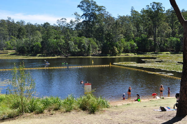 Enoggera reservoir Brisbane paddle boarding