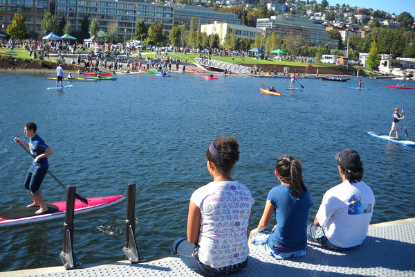 Lake Union seattle paddle boarding seattle