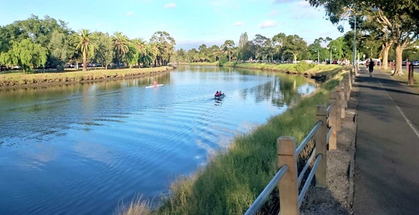 Maribyrnong River Melbourne paddle boarding