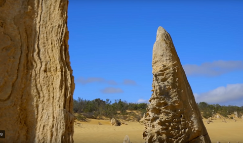 Nambung national park and the Pinnacles