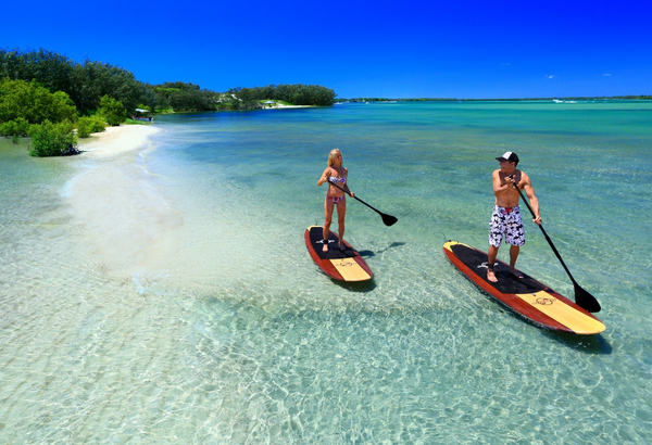 Pumice Stone Passage Brisbane paddle boarding