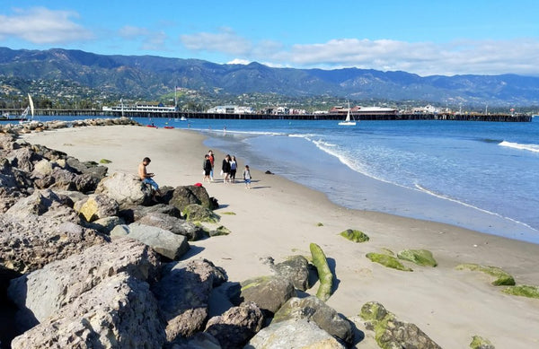 Santa Barbara Harbor Beach