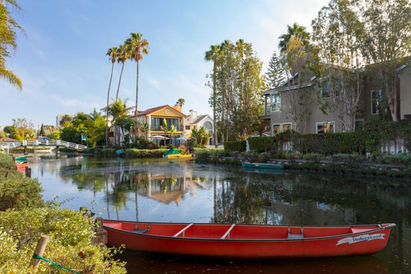 Venice Canals Los Angeles Paddle Boarding