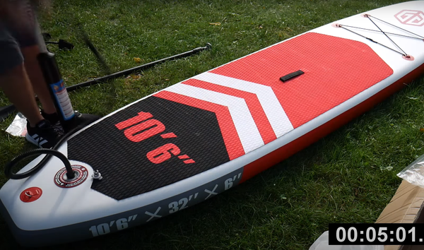 Blow up paddle board