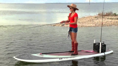 bring necessary stuff for sup fishing