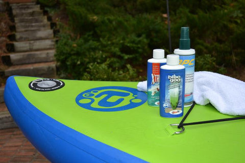 clean your sup board
