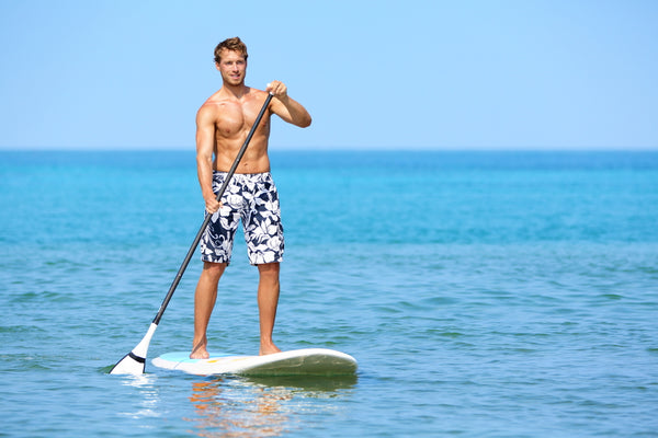 Paddle boarding full body workout