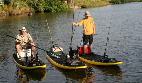 make a plan for sup fishing
