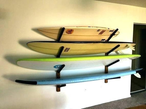 store your SUP board on a stand up paddle board rack
