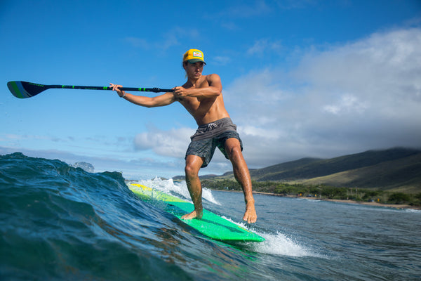 Paddleboarding improves your balance