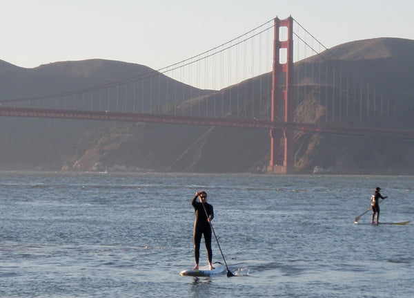 south beach harbor san francisco paddle boarding