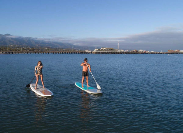 paddle boarding santa barbara