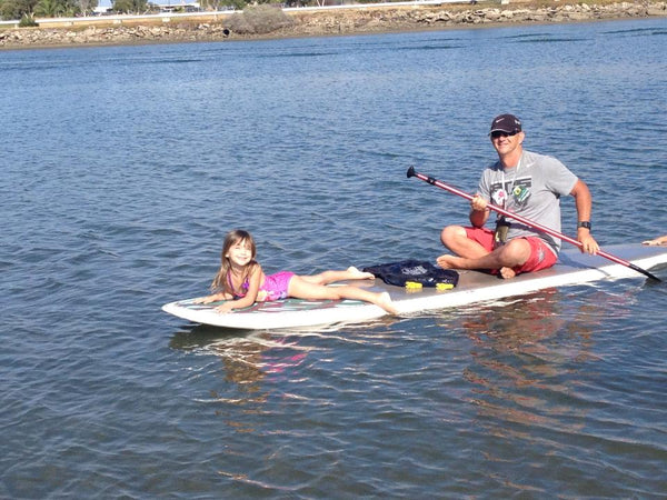 paddle with kids
