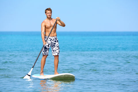 Paddleboarding Full-body workout