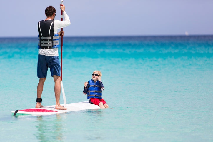 wear a PFD to stand up paddleboarding