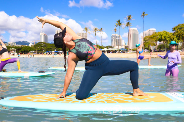 sup yoga build core muscle and strength
