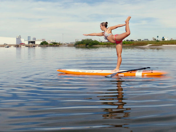 SUP yoga challenge your limits