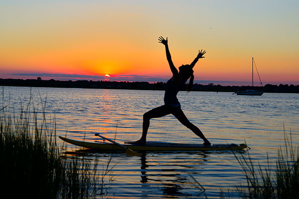SUP Yoga Beginner Tips