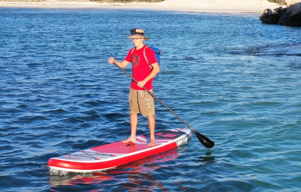 Why you should try paddle boarding