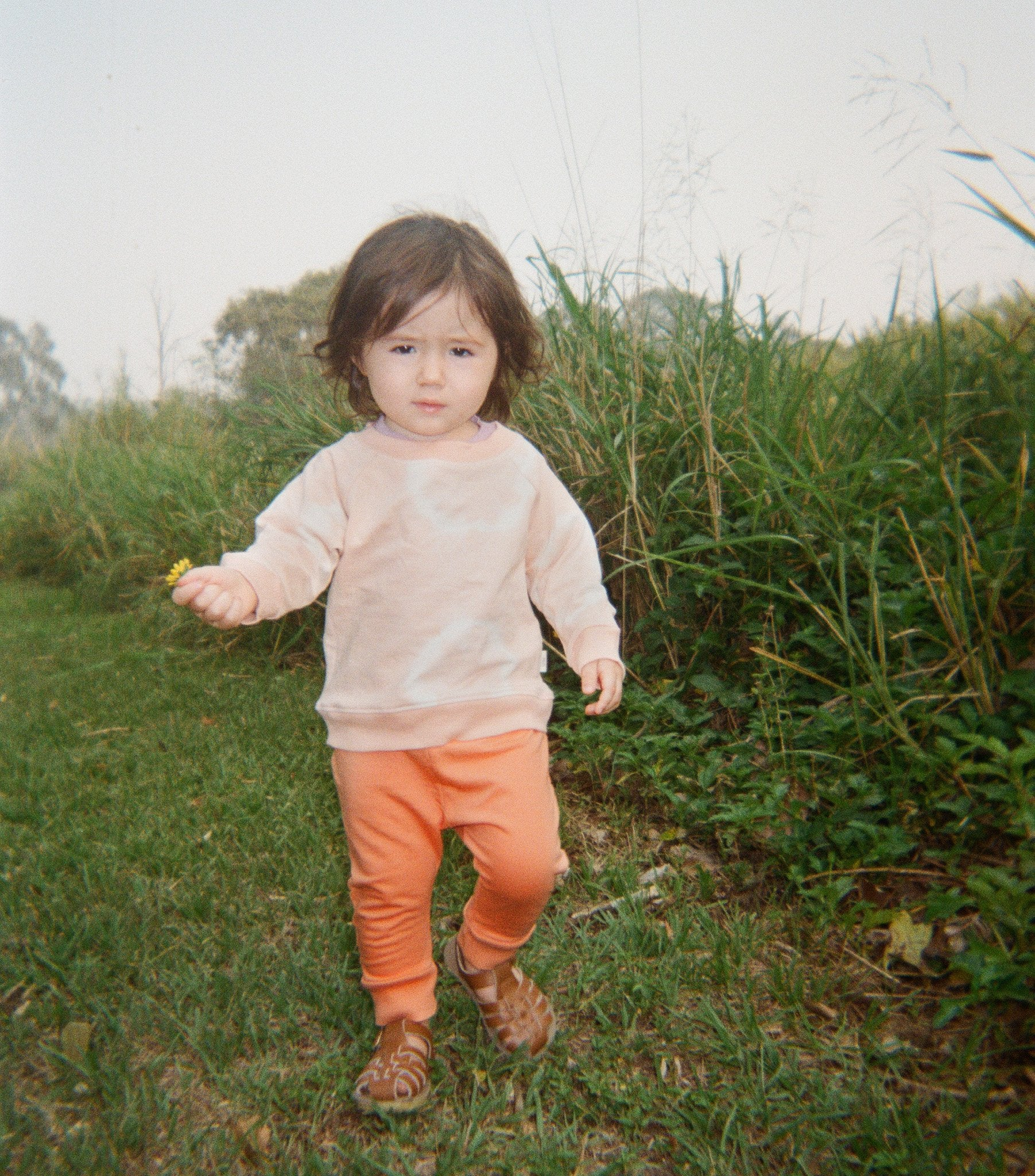 Baby Tracksuit Jumper - Peach