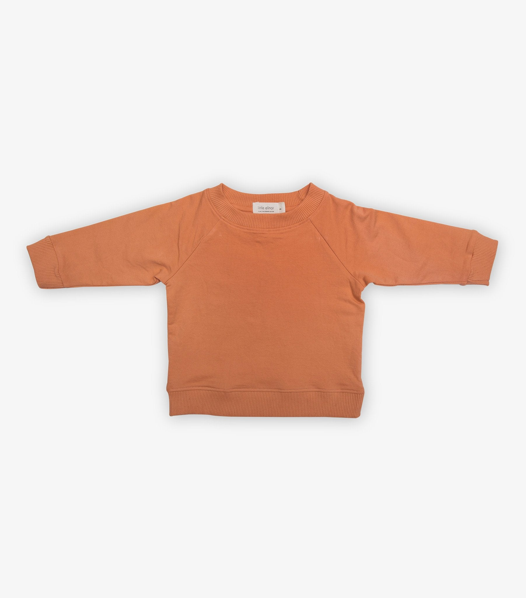 Baby Tracksuit Jumper - Jaffa Orange