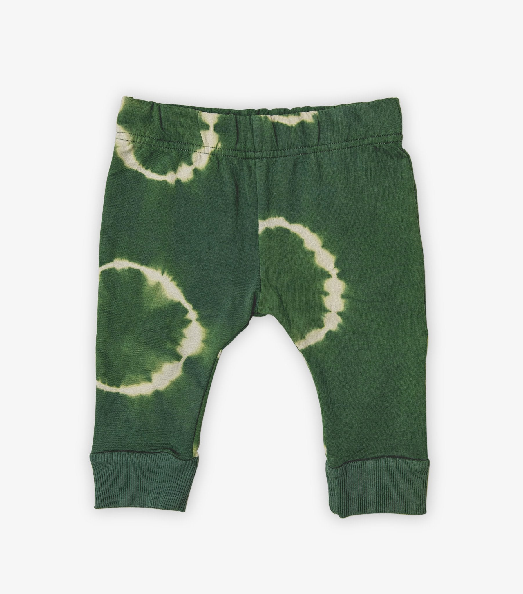 Baby Tracksuit Pants - Cactus Green