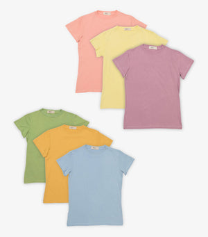 3 Pack of Crew Neck Tees - Organic