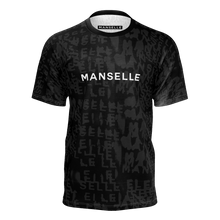Load image into Gallery viewer, Manselle Logo Tee in Shadow Graphite