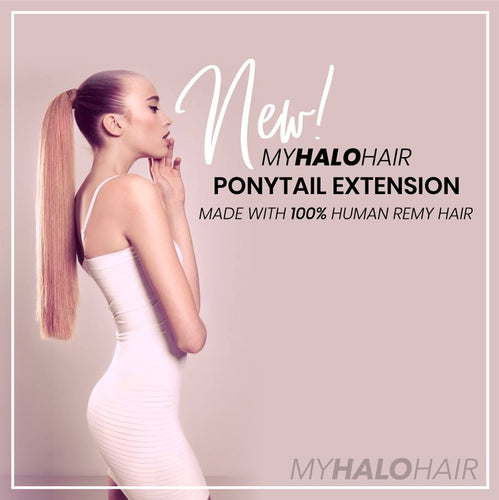 MyHaloHair Ponytail Extension