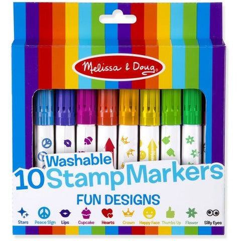 10 Stamp Markers - Fun Designs
