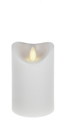"3x5"" Wax LED Pillar Candle"