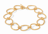 Aspen Link Necklace Gold 20 Inches