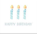 Happy Birthday Candles Enclosure Cards