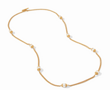 Calypso Pearl Station Necklace 40 Inches