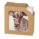 Farm Animal Coasters (4pc Set)