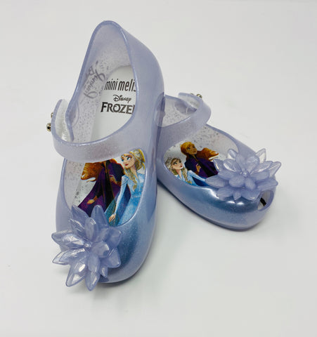 Mini Melissa Ultragirl Frozen Pearl White