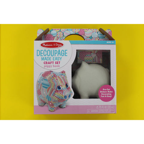 Decoupage Made Easy -Piggy Bank