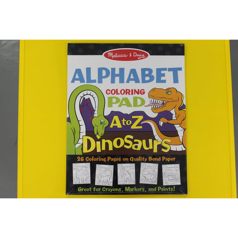 Dinosaurs Alphabet Color Pad A to Z