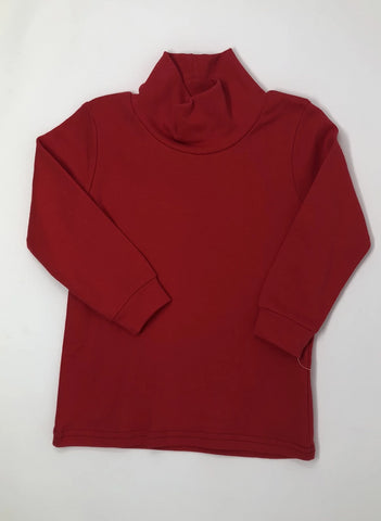Red Unisex Turtleneck