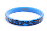Leopard Print Acrylic Bangle