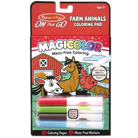 Magicolor Coloring Pad - Farm Animals