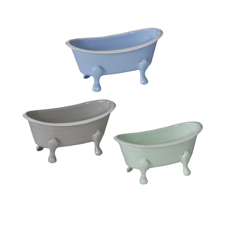 Mini Enamel Bathtub Colorful