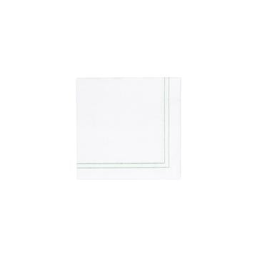 Papersoft Napkins Linea Green Cocktail Napkins (Pack of 20)