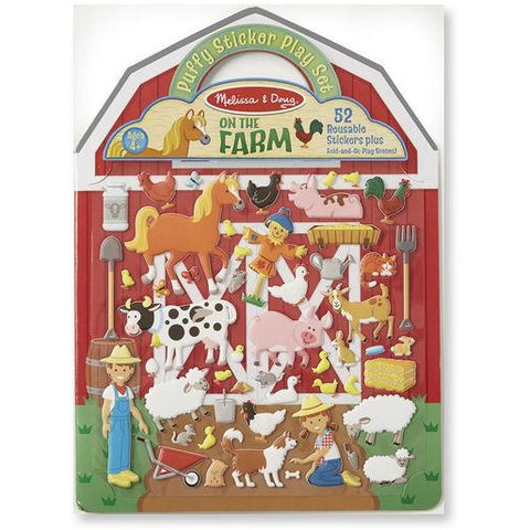 Puffy Sticker - Farm