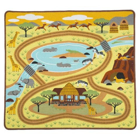 Round the Savanna Safari Rug