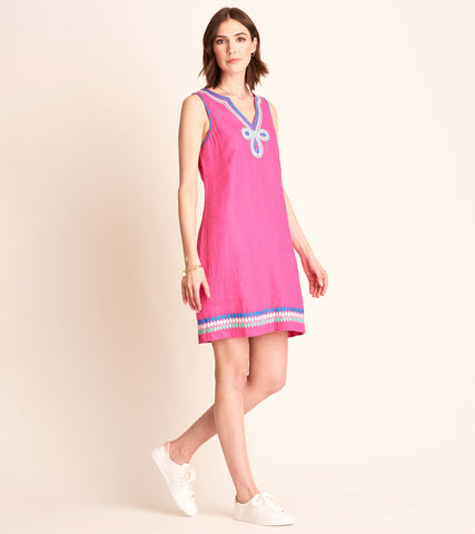 Portia Dress - Fuschia