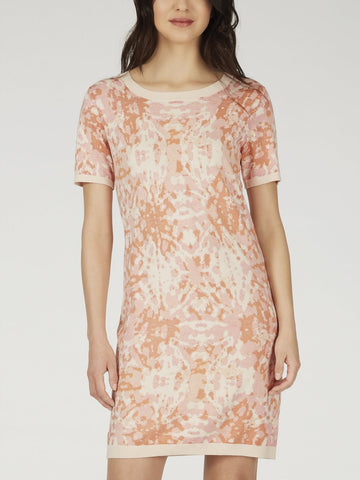 Rose Dust Multi S/S Sweater Dress