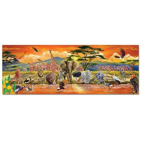 Safari Floor Puzzle (100 pc)
